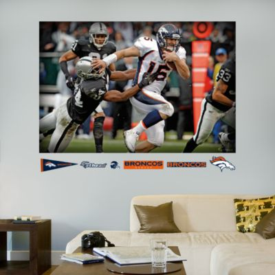 Rams Helmets In Your Face Mural Fathead Wall Decal